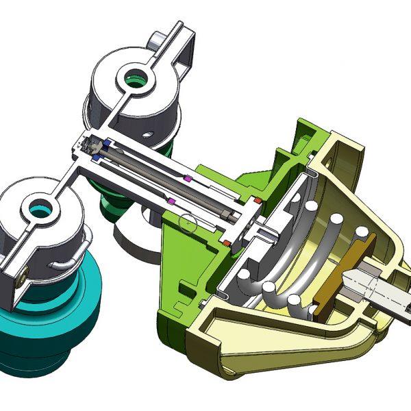 Medical Gas balancing manifold